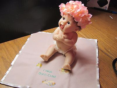 ASHTON DRAKE GALLERIES with COA Sherry Rawn Doll I WAS BORN CUTE