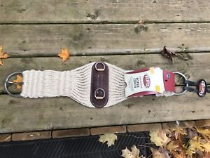 "30"" brand new Weaver mohair roper cinch"
