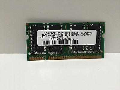 Деталь Micron Memory mt4VDDT1664HY pc2700S 128mb