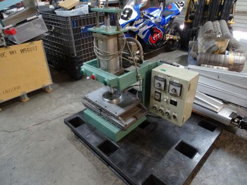 "Industrial Laboratory Pneumatic Heated Press Plate 23 1/2"" x 12"""