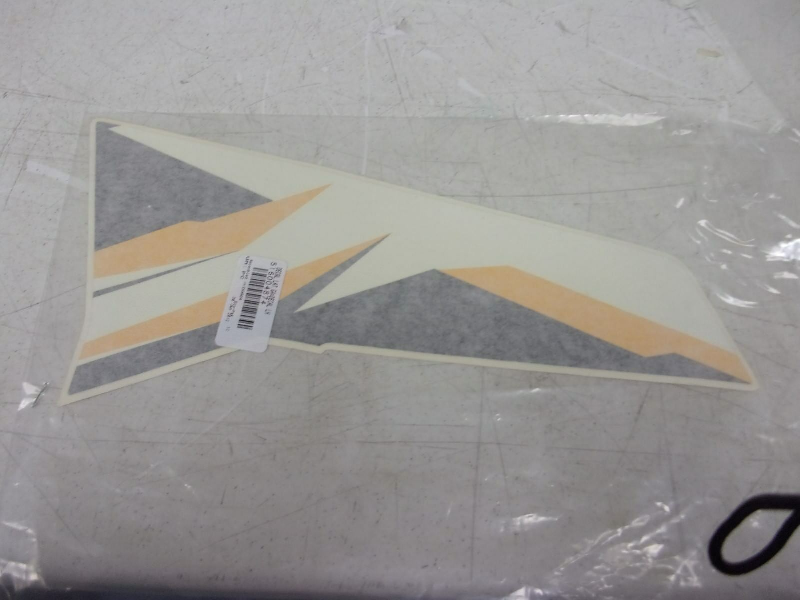 Ski-doo snowmobile LH Front Upper Side Decal 516003751