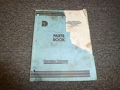 Komatsu Dresser Td9 Series B Hydraulic Bulldozer Bullgrader Parts Catalog Manual