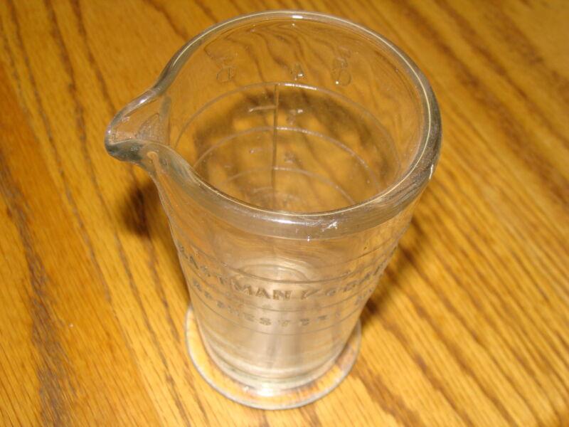 EASTMAN KODAK GLASS CHEMICAL BEAKER