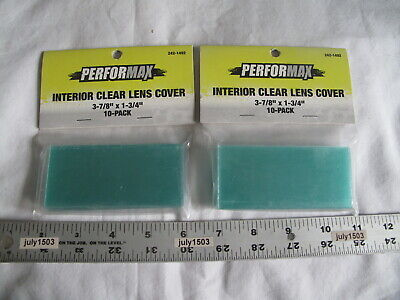 20 New Interior Clear Replacement Lens Cover 3-78 X 1-34 Welding Helmet