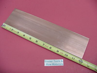14x 3 C110 Copper Bar 12 Long Solid Flat Bar .25x 3.00 Bus Bar Stock H04