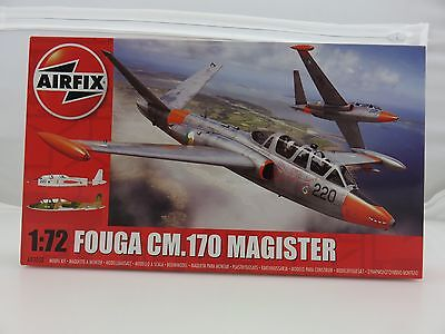 Airfix Fouga CM.170 Magister 1/72 Scale Plastic Model Kit UNBUILT