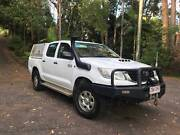 2012 Toyota Hilux SR 4X4 Dual Cab Ute Diesel with extras Coolangatta Gold Coast South Preview