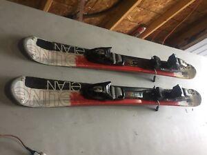 Elan snow blades