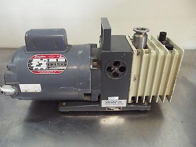 Alcatel Vacuum Pump Ty. Zm2004 No. 22787 With Dayton Motor 12hp 1725rpms2670