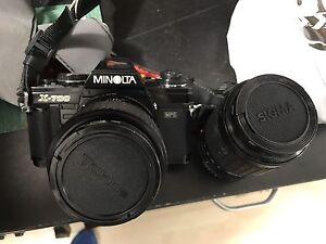 Appareil photo 35mm minolta x-700