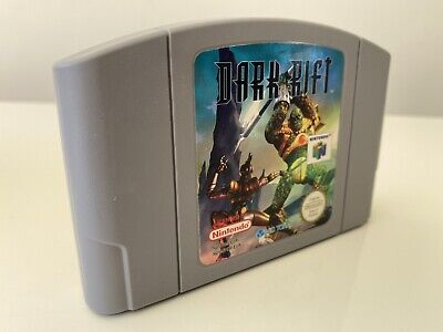 Dark Rift Nintendo 64 N64 PAL UK Cart Only Cleaned and Tested