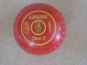 Taylor Redline Lawn Bowls Size 2 Sandy Bay Hobart City Preview