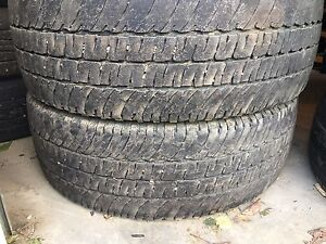 PAIR of Tires   LT 275/70R18 Michelin LTX