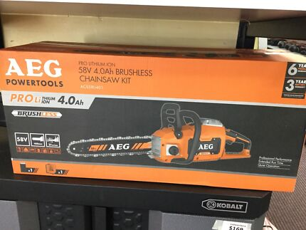 AEG Chainsaw New Condition!! RRP $649