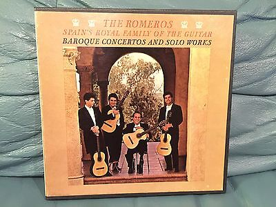 Reel To Reel Tape The Romeros Spain's Royal Family Of The Guitar