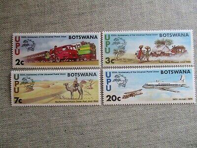 Botswana, Scott#110-113, MNH