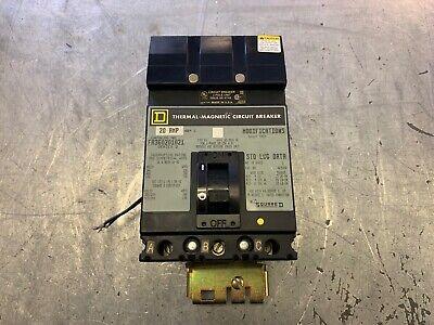 WARRANTY 40 AMP 3 POLE I LINE Circuit Breaker Grey Label Square D FA32040