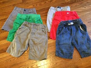 Children's Size 3/4 Shorts and Capris: H&M, Hurley, DC Shoes