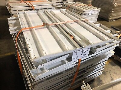 Gondola Store Shelving 48 X 18.5 White 50 Available Used
