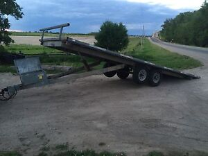 2013 Galvanized Deck Over Tilt and load  8'x24'