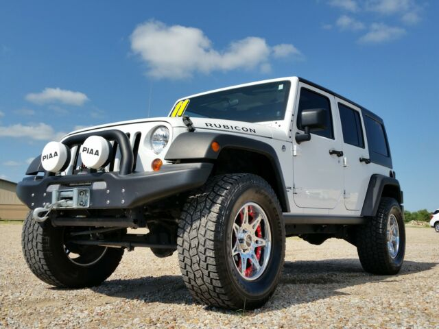 Jeep : Wrangler Rubicon 2011 Jeep Wrangler Unlimited Rubicon lifted 35