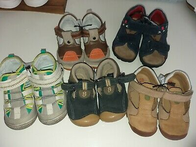 5 Paar Schuhe Baby Kleinkind Gr. 19/20 jungen Elefanten