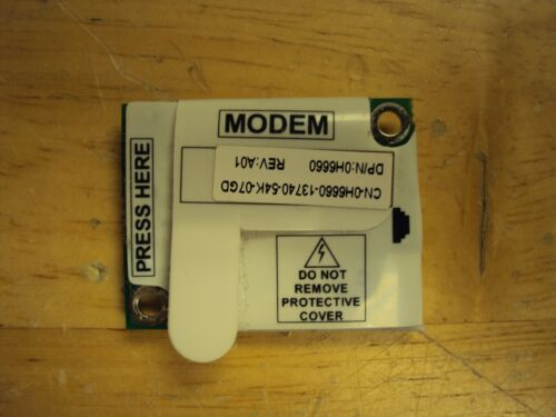 Conexant RD02-D110 3652B    Dial Up Modem 56K. Dell P/N: 0H6660 used working