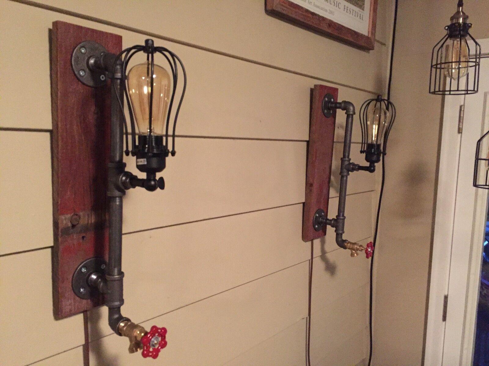 Edison Pipe Lights