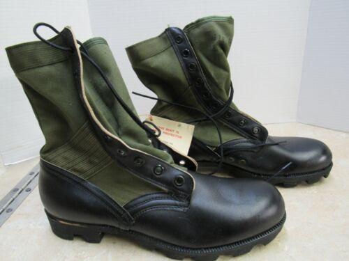 Vietnam Era US OD Jungle Boots 11R Tropical Combat 1967 BATA Original NOS