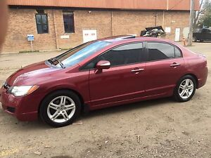 2008 Acura CSX/ Tinted Windows