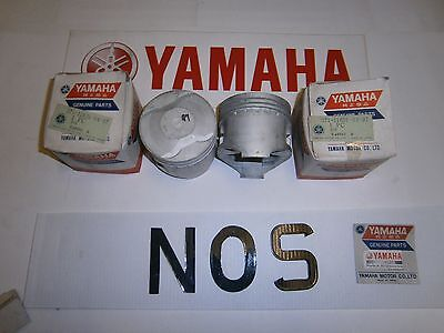 <em>YAMAHA</em> XS500B TX500A   ENGINE CRANK PISTON STD PAIR