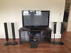 Complete living room entertainment system. 1350$ or best offer