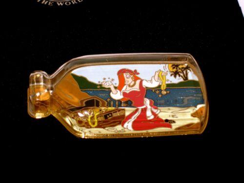 RARE LE 125 Disney Pin✿Jessica Rabbit in Bottle Pirates Caribbean Treasure Chest