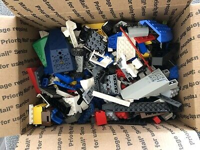 5lbs Random Clean LEGO Parts MINIFIGURE BONUS SEE BELOW