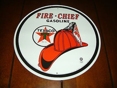 TEXACO  OIL- GAS - OFFICIAL LICENSED PRODUCT --BRAND NEW METAL SIGN--