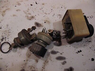 1974 Case 1070 Farm Tractor Switches