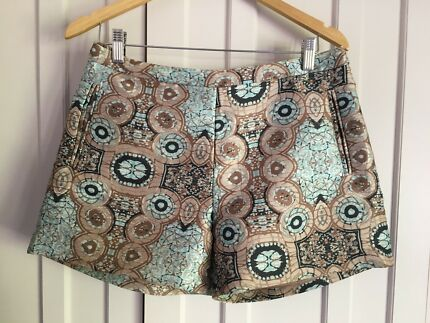 Designer H&M Jacquard shorts