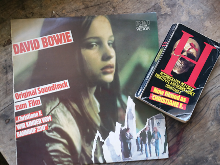 David Bowie soundtrack to Christiane F. plus book