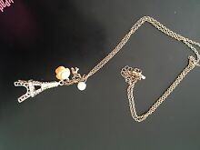 Eiffel Tower Paris necklace $5 Keysborough Greater Dandenong Preview
