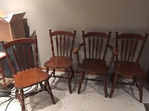 Set of 4 chairs for sale