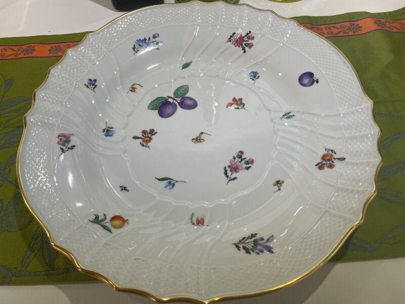 Richard Ginori Perugia White 13 inch Platter/Pasta Dish