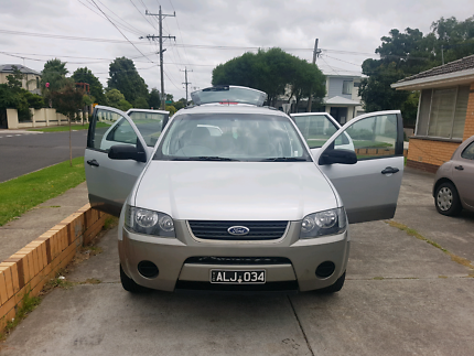 Ford Territory 2007 dual fuel  South Kingsville Hobsons Bay Area Preview