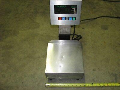 Toledo Digital Scale 3026 With A 9 Inch X 9 Inch Platform 120 Volt Ac 1phase