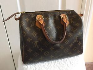 Authentic Louis Vuitton Speedy 25 Bag