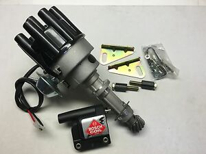 Holden V8 253-304-308 Distributor Complete Suit Carby Engine  WITH BOSCH COIL