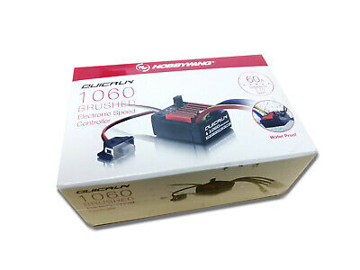 Hobbywing QuicRun 60A ESC 1060 Waterproof Brushed SBEC LiPo Compatible