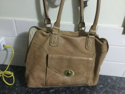 Colorado Tan Leather Handbag