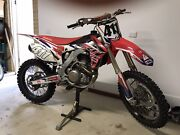 2016 CRF 450 Clyde Casey Area Preview