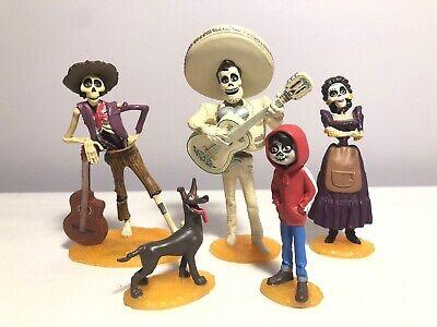 Disney Pixar Coco Figures Lot 5 PVC Cake Toppers
