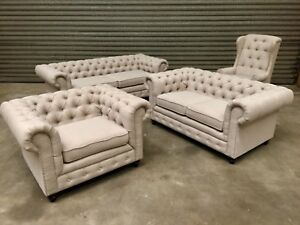 FABRIC SOFAS CLEARANCE  Up to 70% OFF RRP • From $599 •